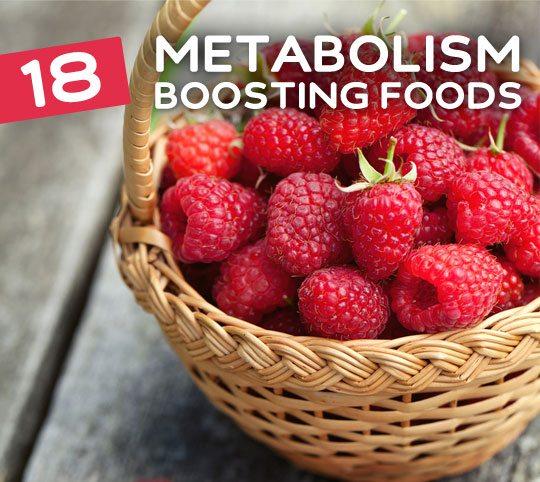 18 Metabolism-Boosting Foods