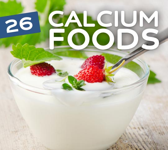 calcium rich foods