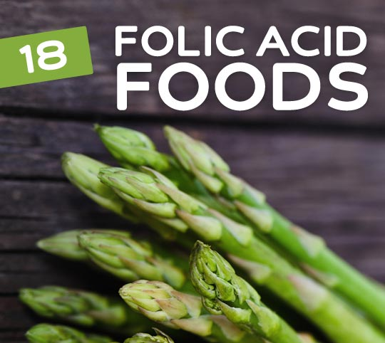 folic acid foods