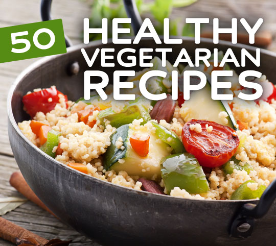 healthy vegetarian recipes
