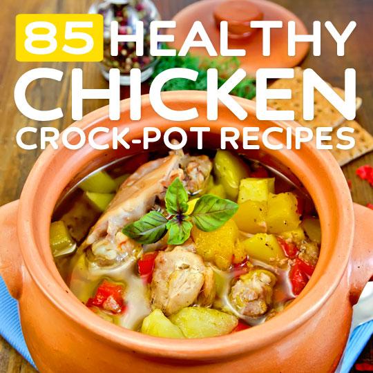 healthy chicken crock pot recipes