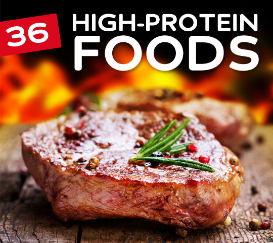 36 high protein foods