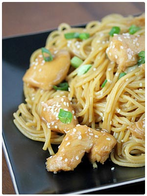 Chinese Chicken with Noodles