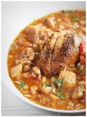 Chipotle Chicken Soup (gluten-free)