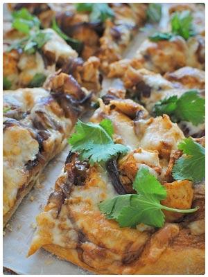 Creamy BBQ Chicken Pizza