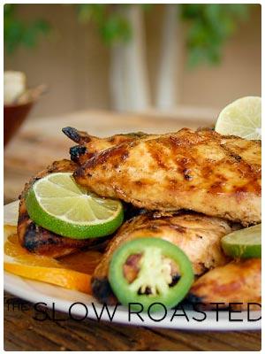 Grilled Margarita Chicken with Marinade
