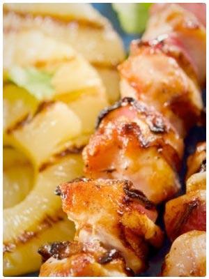 Hawaiian Grilled Chicken & Pineapple