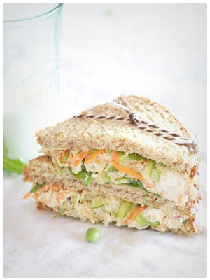 Healthy Chicken Salad Sandwich
