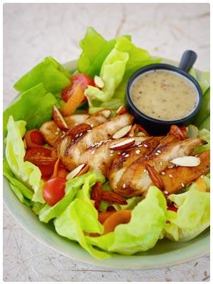 Honey-Glazed Chicken Salad