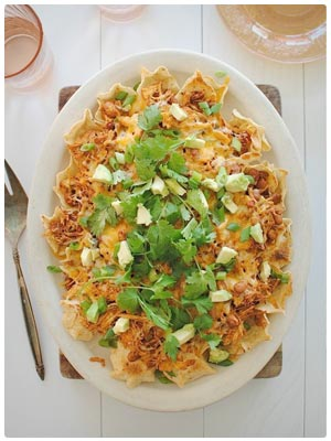 Slow Cooker Chicken Nachos
