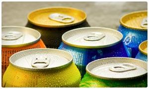 diet colas and sodas