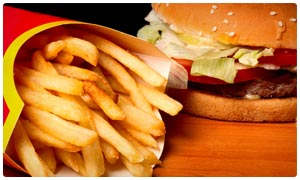 Image result for image of saying no to oily foods