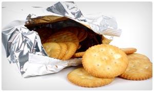 packaged diet snacks