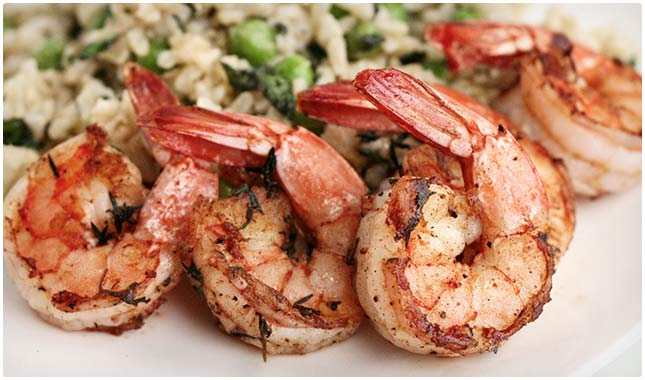 bbq rubbed shrimp