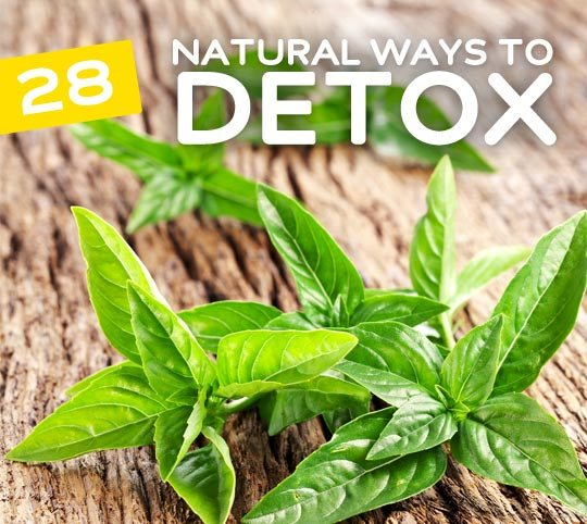28 Natural Ways to Detox Your Body- the best resource for cleansing tips.