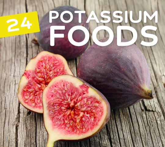 24 Potassium Rich Foods- that are not bananas.