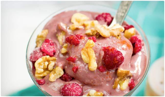 vanilla berry smoothie