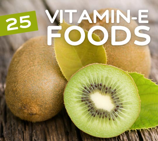 25 Foods High in Vitamin E- an essential vitamin for detox & cleansing.