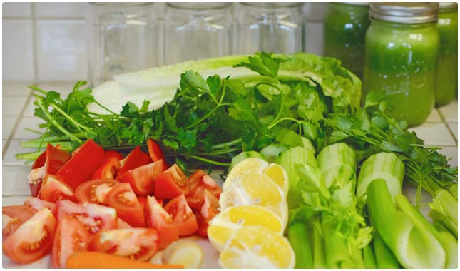 rainbow veggie drink