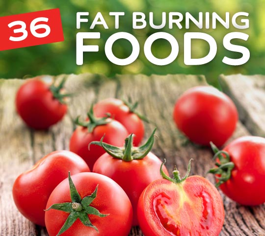 36 Foods That Burn Fat- and help you lose weight.