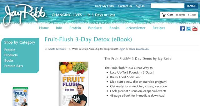 fruit flush
