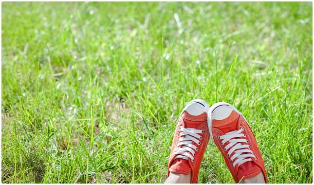 kick your feet up
