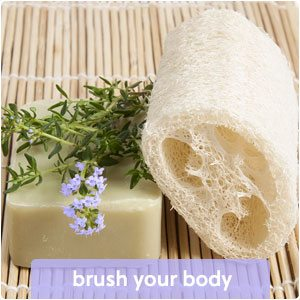 brush your body