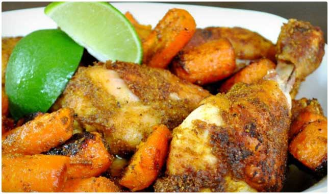 curried chicken drumsticks