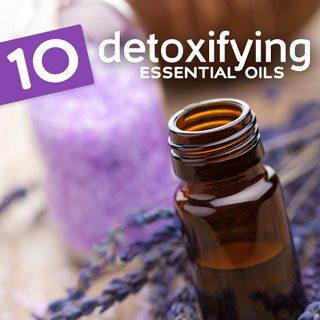 detox essential oils