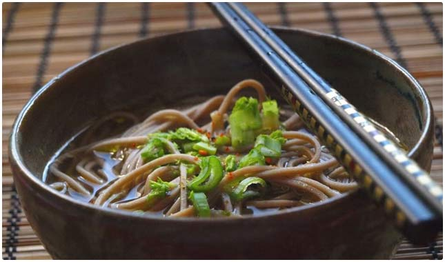 gingery noodle soup