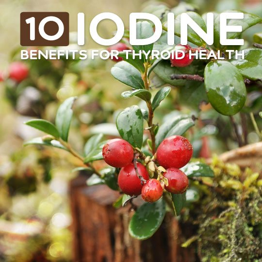 10 Benefits of Iodine- for your thyroid and overall health.