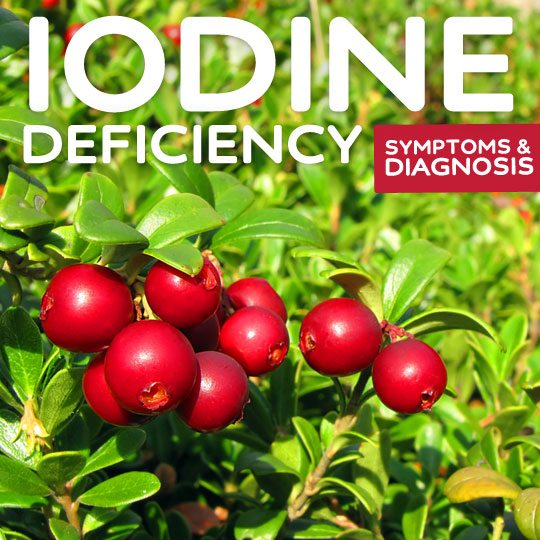 Iodine Deficiency- symptoms and treatments.