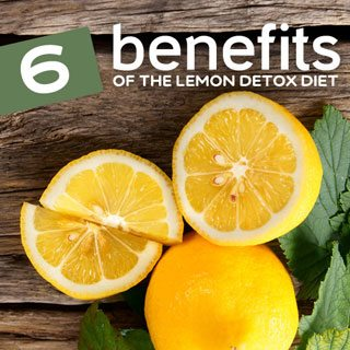lemon detox diet benefits