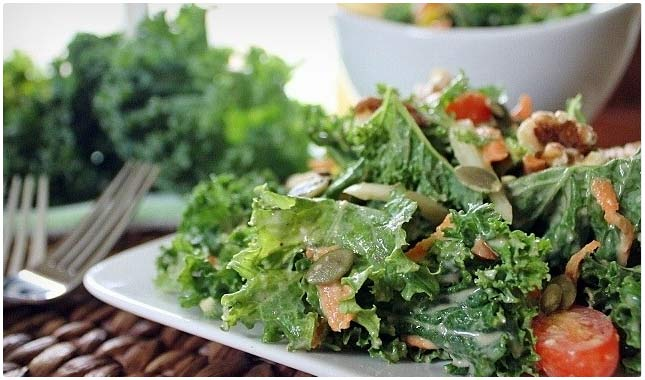 pumped up kale salad