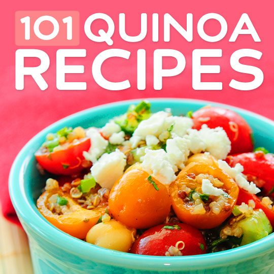 101 Healthy Quinoa Recipes- for every meal.