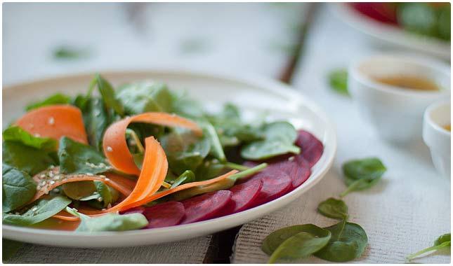 raw detox salad