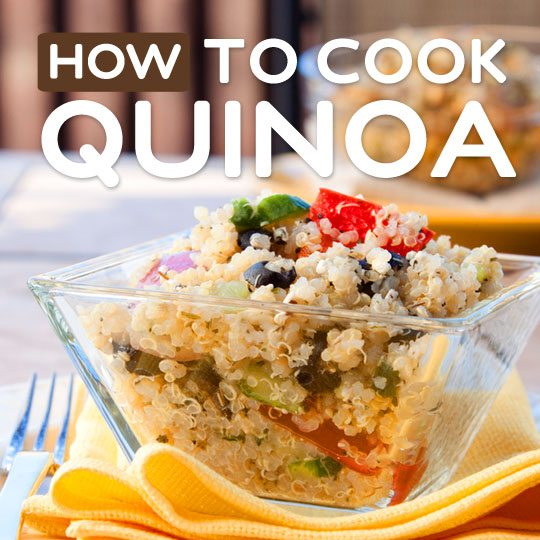 How to Cook Perfect, Fluffy Quinoa Every Time- without turning it into a globby mess.