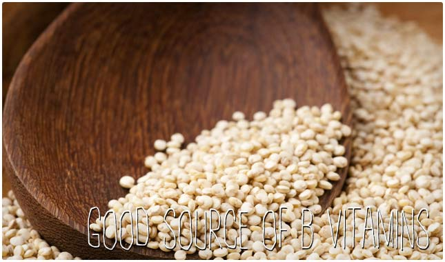 quinoa and b vitamins