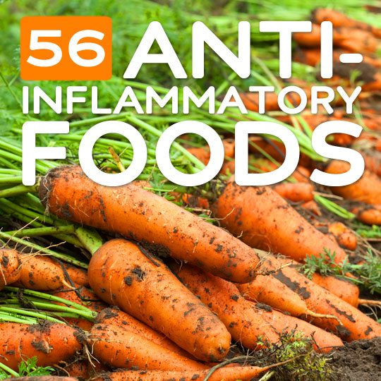 56 Anti-Inflammatory Foods- for a healthier body.