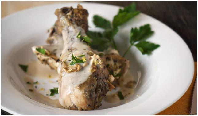 crock pot tarragon chicken