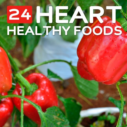 24 Heart Healthy Foods- to protect your heart.