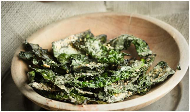 parmesan kale