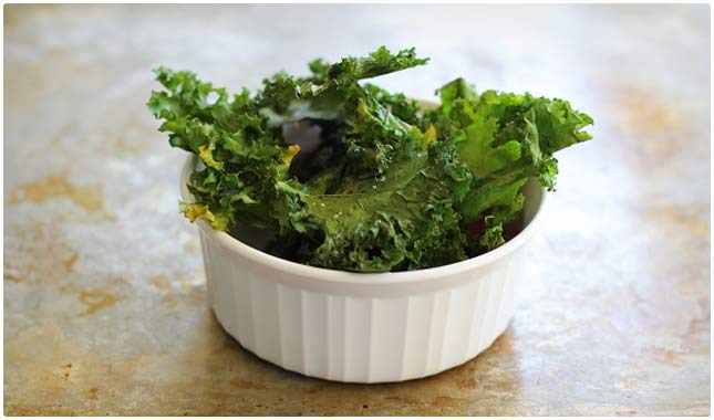 plain kale chips