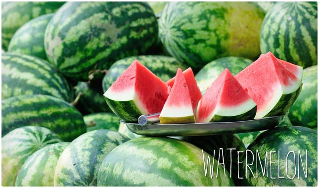 watermelon and antioxidants