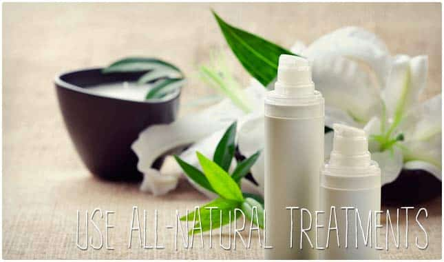 all natural acne treatments