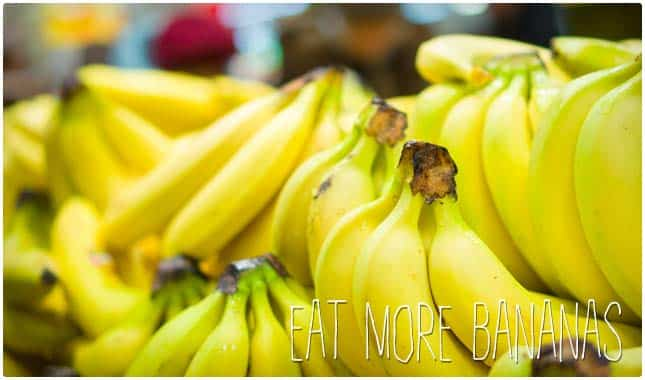 eat more bananas