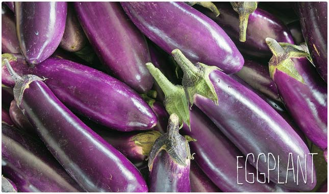 eggplant fuels your brain