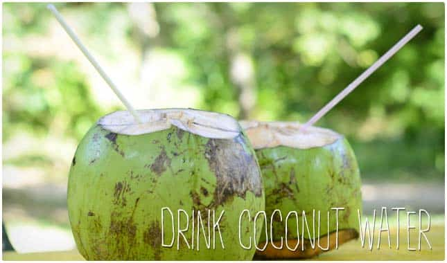 lower blood pressure with coconut water