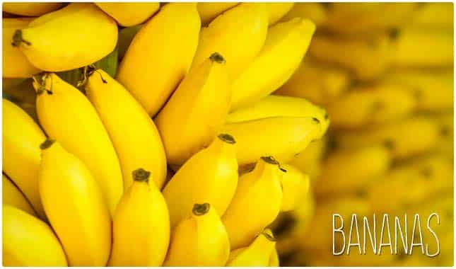 bananas for joint pain