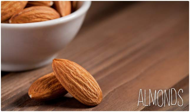 almonds boost libido